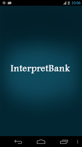 InterpretBank Lite