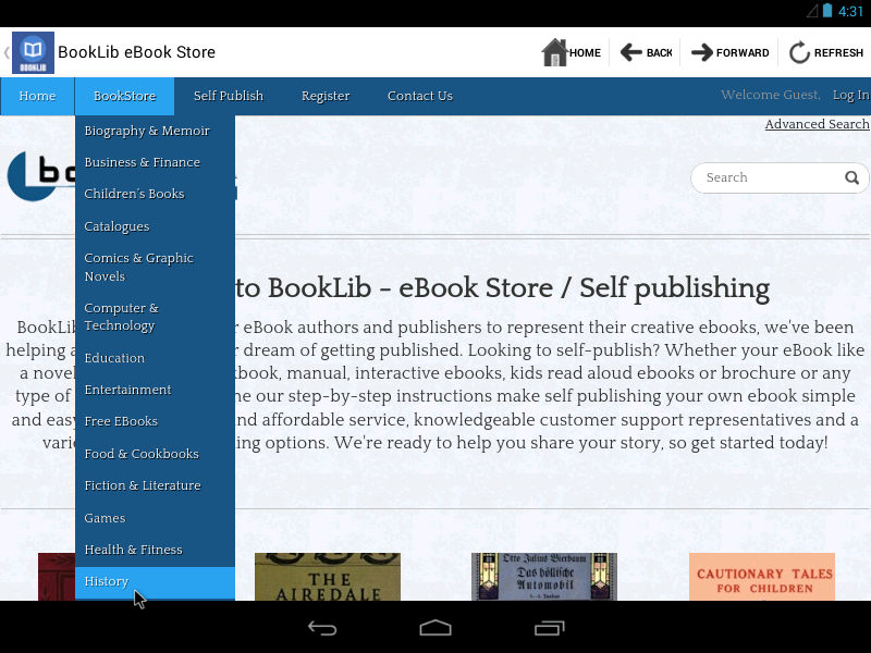 BookLib Reader - screenshot