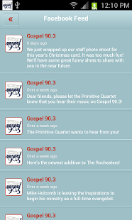 Gospel 90.3 - screenshot thumbnail