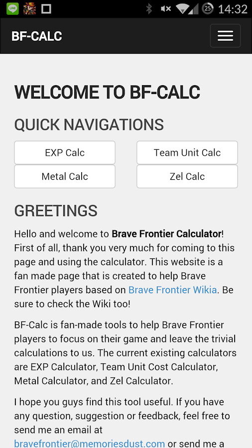 BF-Calc- screenshot