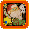 Christmas cookie recipes icon