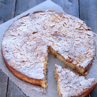 Ricotta Pie with Lemon and Almonds