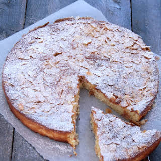 Ricotta Pie with Lemon and Almonds.