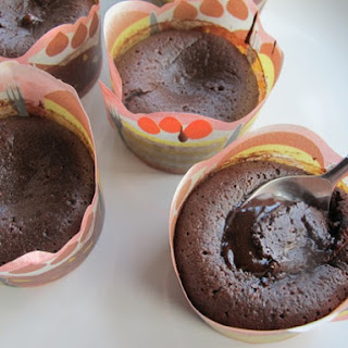 Flourless Chocolate Lava Cakes.