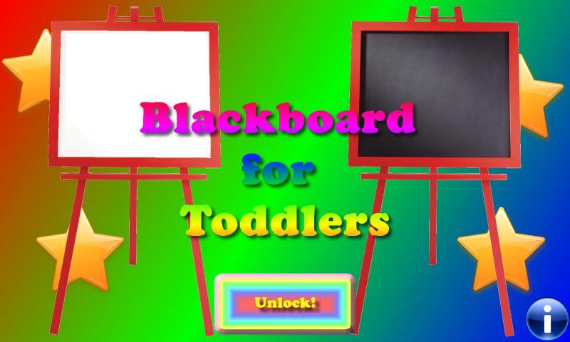 Blackboard for toddlers FREE- screenshot