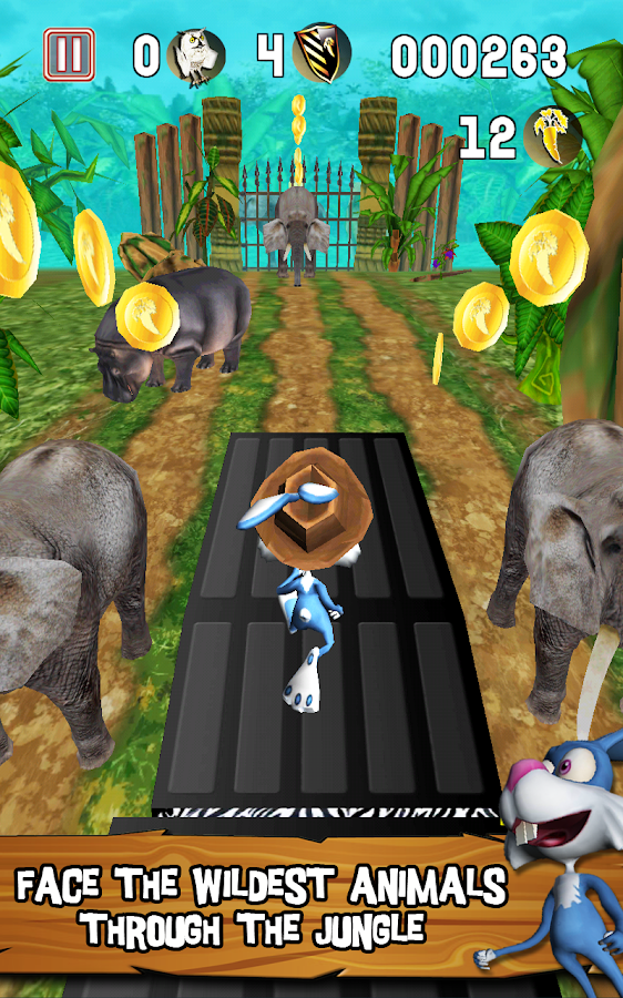 Temple Bunny Run - screenshot