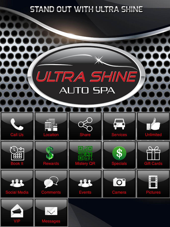 Ultra Shine Auto Spa- screenshot