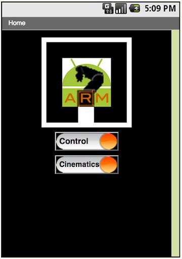 ARM:Android+Mindstorm Robotics
