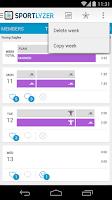 Screenshot of Sportlyzer Coach App