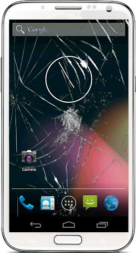Broken or Cracked Screen