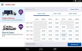 Screenshot of Tesco Groceries: Shop Online
