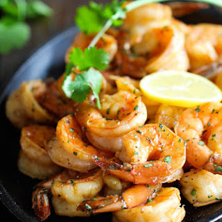 Sweet Lemon Shrimp.