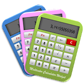 Multicolor Calculator Widget
