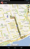 Screenshot of TTC Bus Tracker LITE