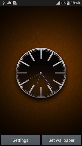 动态壁纸黑色时钟 個人化 App-癮科技App