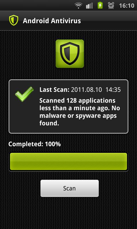 Antivirus for Android. - screenshot
