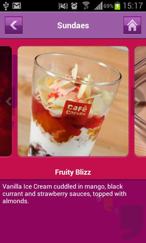 Café Coffee Day - screenshot