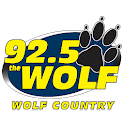 92.5 THE WOLF logo