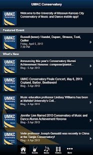 UMKC Conservatory- screenshot thumbnail