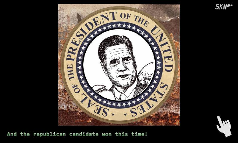 Whack a Candidate: Election'12 - screenshot