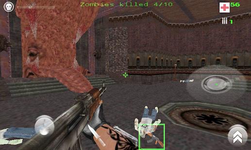Quake 3 Engine- Zombie (alpha)- screenshot thumbnail