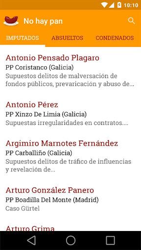 【免費新聞App】Políticos corruptos.No hay pan-APP點子