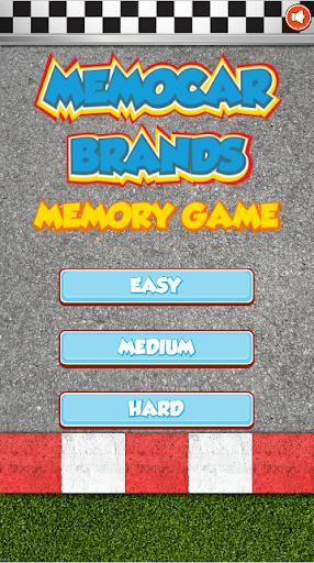 MemoCar Brands Memory Game