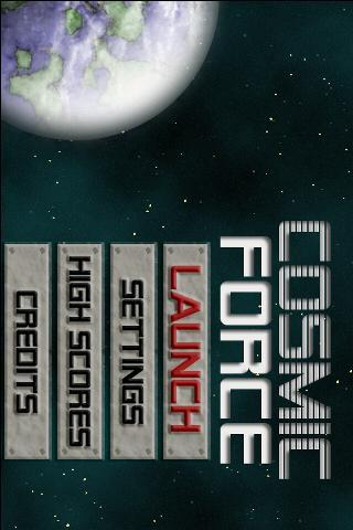 Cosmic Force Demo (Trial)- screenshot