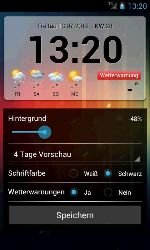 Wetter Widgets Österreich- screenshot