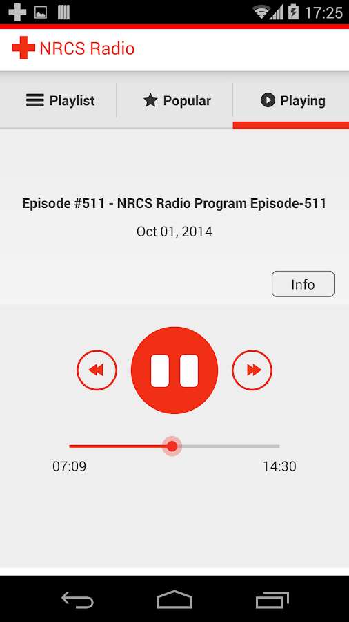 NRCS Radio- screenshot