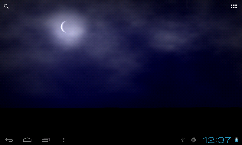 Stormy Night Live Wallpaper- screenshot