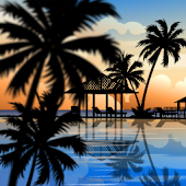 Tropical Resort Live Wallpaper