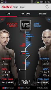 UFC Fans powered by MetroPCS - screenshot thumbnail