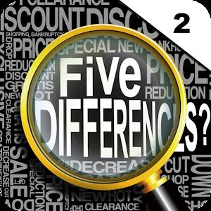 Five Differences? vol.2 LOGO-APP點子