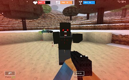Cube Gun 3D : Winter Craft 1.0 screenshot 44130