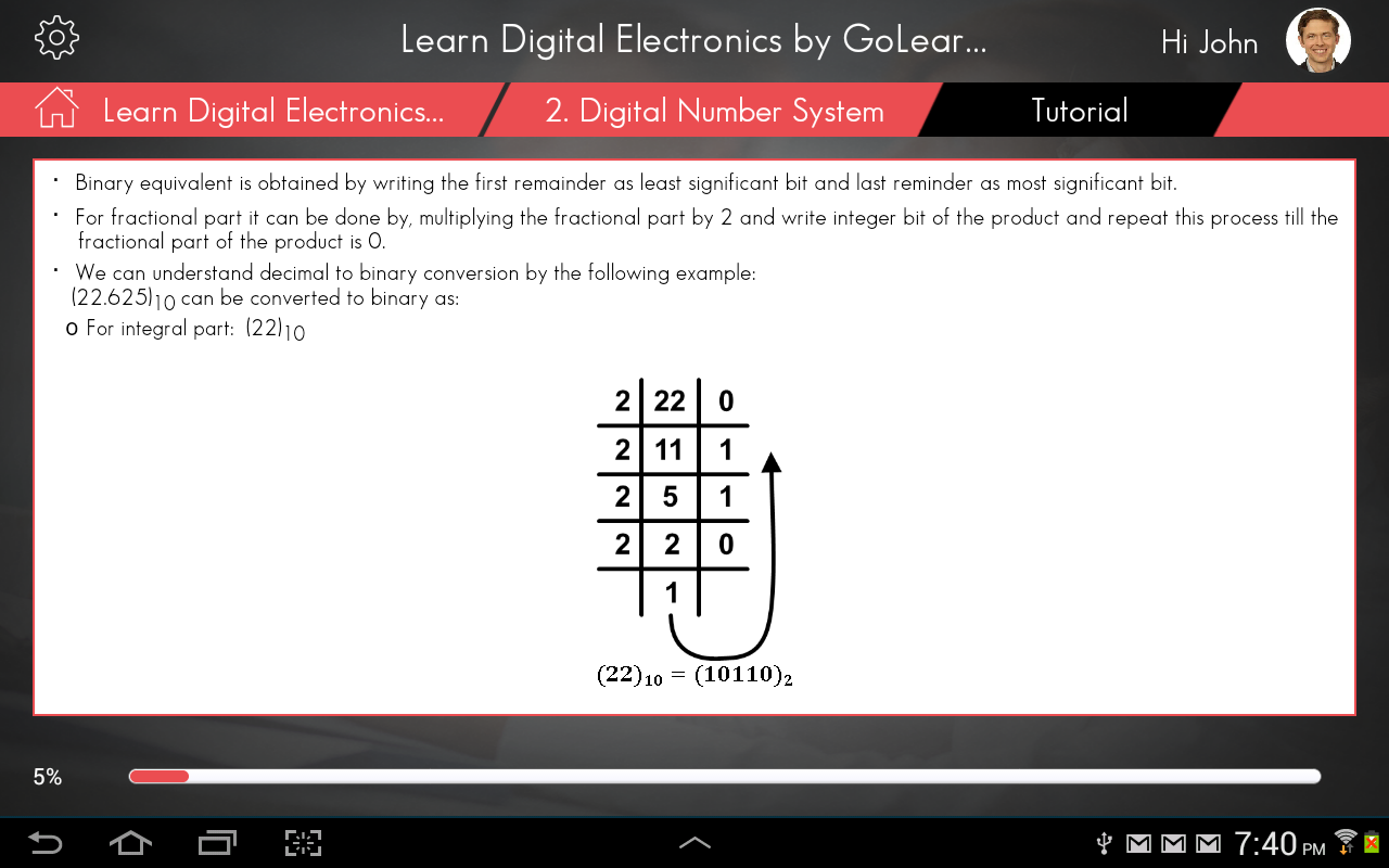 Learn Digital Electronics - screenshot