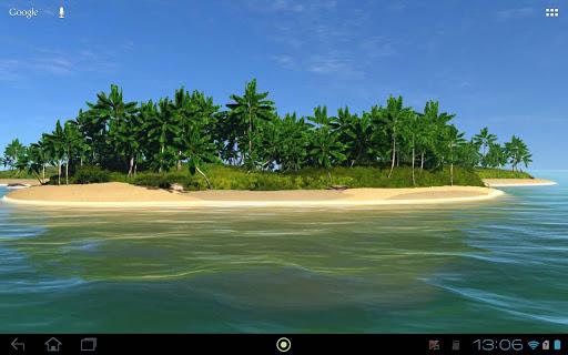 A beautiful Tropical island