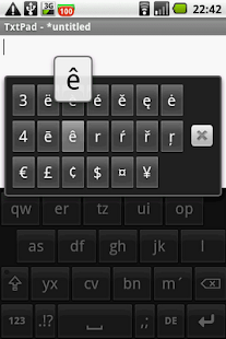 All Accents keyboard on demand - screenshot thumbnail