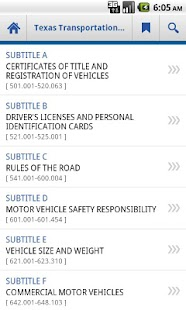 Texas Transportation Code- screenshot thumbnail