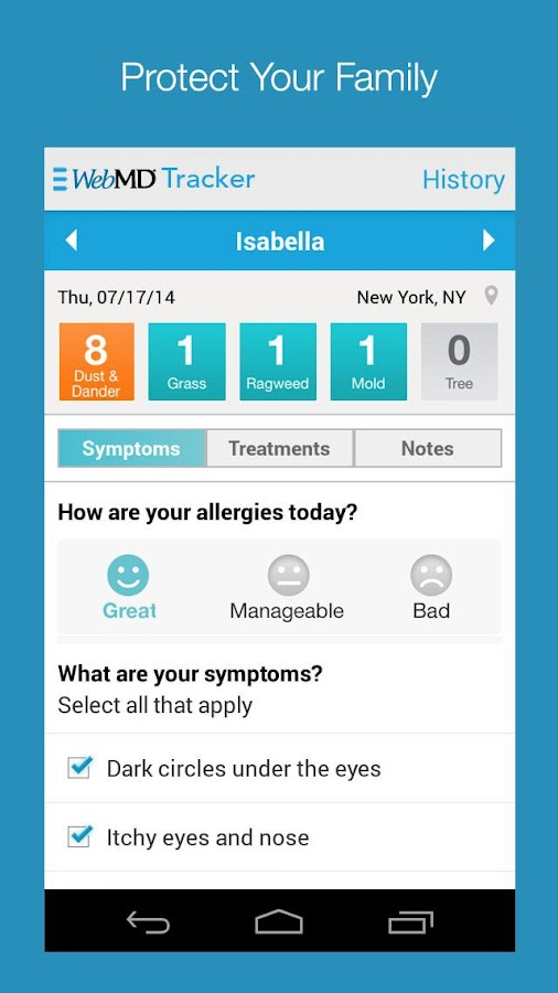 Webmd allergy android apps on google play