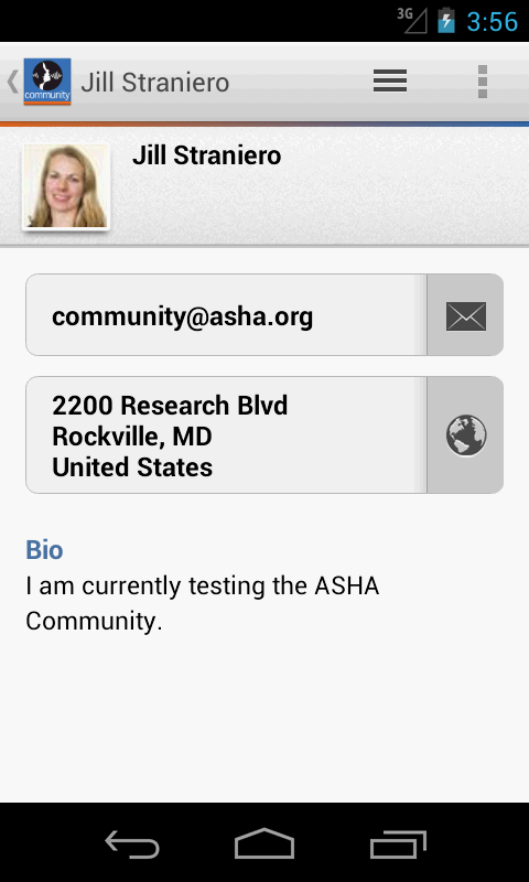 ASHA Community - screenshot