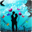 Romantic love Wallpaper icon