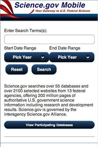 Science.gov Mobile