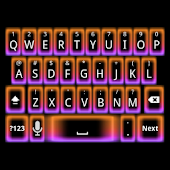 Neon Glow Keyboard Skin