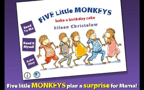 5 Monkeys Bake a Birthday Cake- screenshot thumbnail