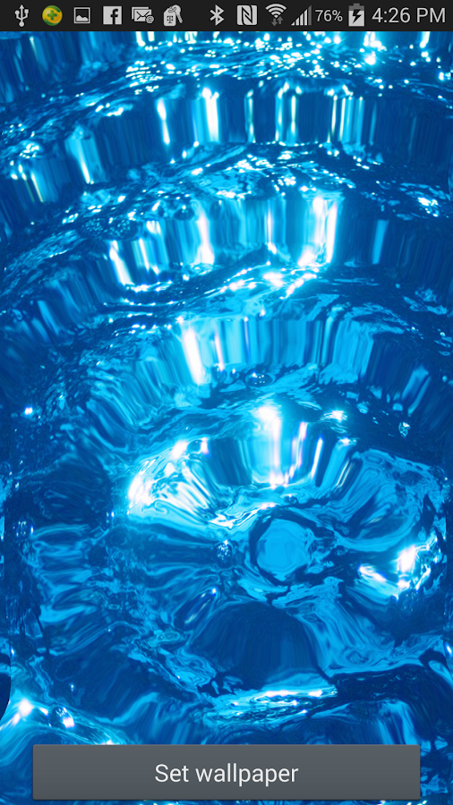 water ripple live wallpaper android apps on google play