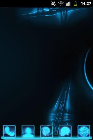 GO Launcher Neon Blue Buy