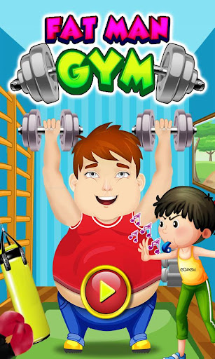 Fat Man Gym - Funny Workout