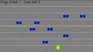 Screenshot of Reverse Frogger