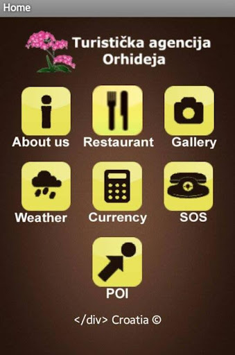 Travel agency Orhideja